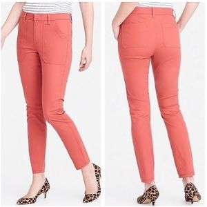 J.Crew | High Waisted Skinny Cargo Jeans Size 28